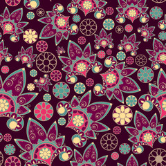 pattern with decorative element