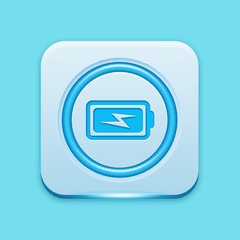 Blue icon edge light