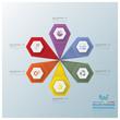 Modern Hexagon Business Infographic