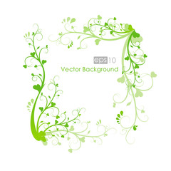 Floral pattern background spring vector illustration