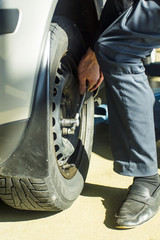 Remuving Wheel - tire