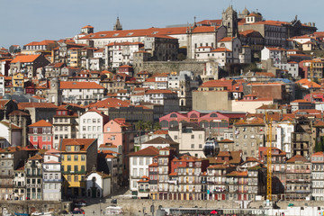 View of the city of Porto, Portugal