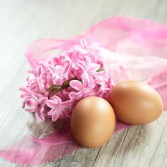 Eier mit Deko