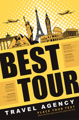 banner best tour for traveling with architectural landmarks
