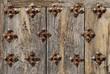 antique door close up