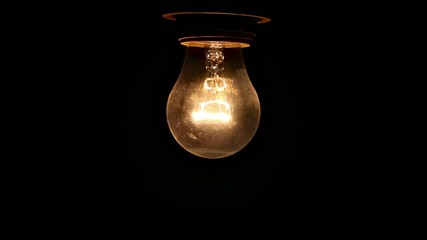 lamp bulb turns ON OFF