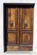 Old wooden door in Venice