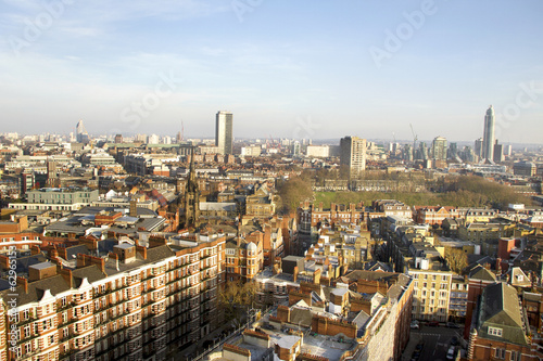 Poster View from Westminster Cathedral.