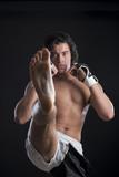 Fototapeta Malaysian boxer fighting