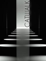 Dark design, fashion catwalk runway