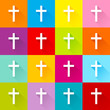 16 Crosses Color