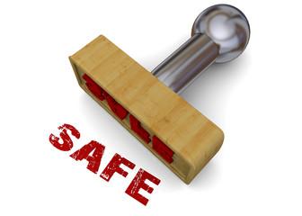 Safe Stamp - 3D