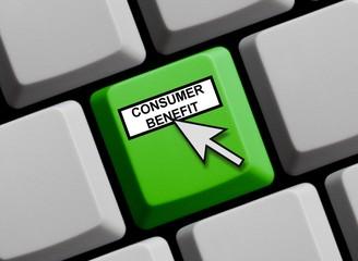 Consumer Benefit online