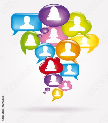 App, Social media, fumetti