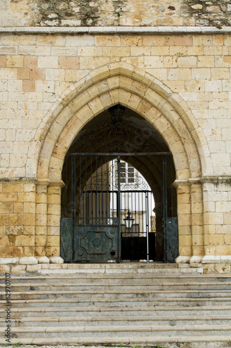 arch of the Church of Se located in Portugal