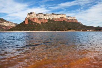 Sau Reservoir and Tavertet Cliffs