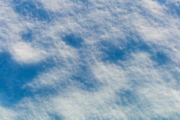 Schnee Nahaufnahme