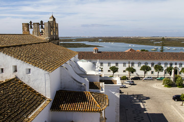 main church of the historical old town of Faro