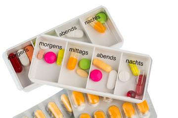 Tablettenspender und Tabletten