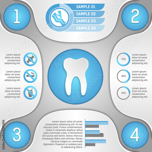 Four steps to healthy teeth