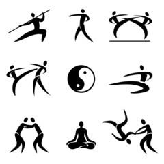 Asian Martial Arts icons