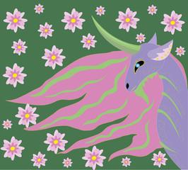 Unicorn spring