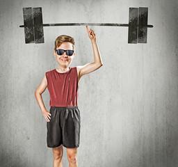 Nerdy Bodybuilder