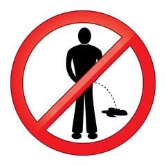 Symbol No Urinating