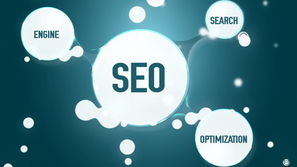 SEO. Search engine optimization concept.