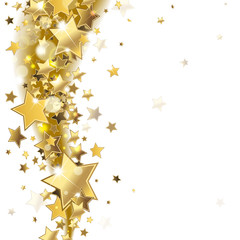 background with gold stars