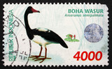 Postage stamp Indonesia 1998 Magpie Goose, Waterbird poster