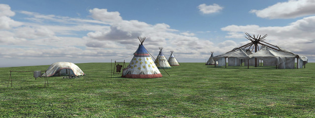 Native American Village
