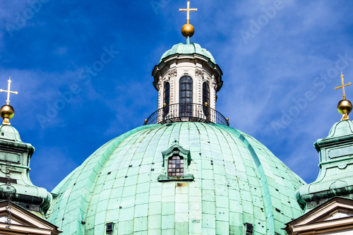 Vienna, Austria - famous Peterskirche (Saint Peter's Church)