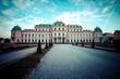 Upper Belvedere building in Vienna, Austria.