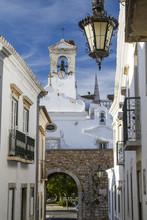 église de la ville de Faro, au Portugal.