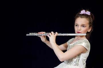 Girl Flautist