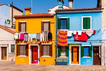 Rue de Burano, Venise
