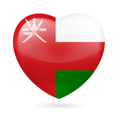 Heart icon of Oman