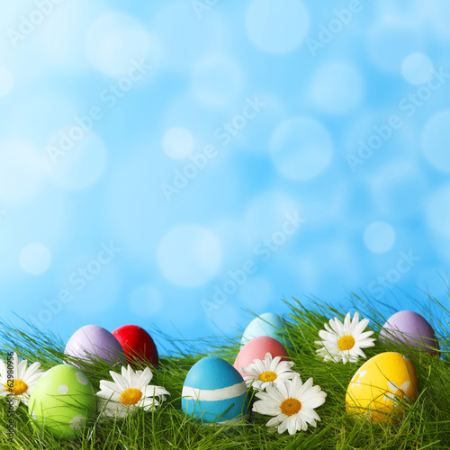 canvas print picture Easter Greeting Card