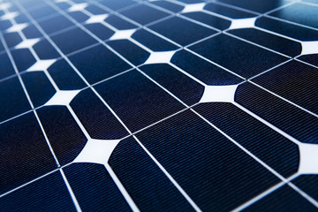Solarpanel Close-up