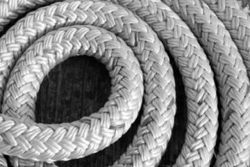 Seil schwarz weiss