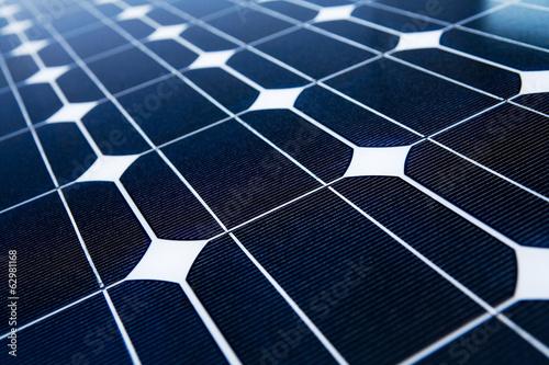 canvas print picture Solarpanel Close-up