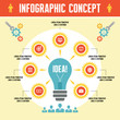 Infographic Business Concept - Creative Idea Illustration
