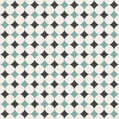 Seamless background. Abstract chess pattern wallpaper. Vector il