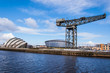 View of the Hydro concert arena and SECC exhibition centre with