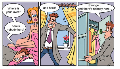 Adult comics strip 1