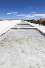 Salt extraction pools