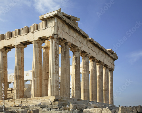 Parthenon  in Acropolis. Athens. Greece