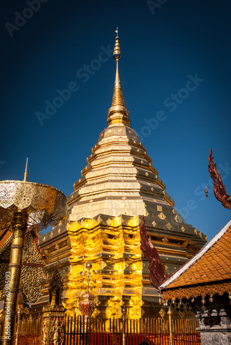 Wat Phra That Doi Suthep in Thailand