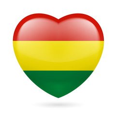 Heart icon of Bolivia